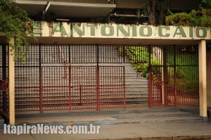 Antônio Caio está parada desde quarta-feira