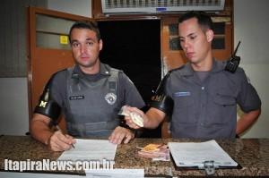 Policiais da Rocam apresentaram drogas e suspeito na Delegacia