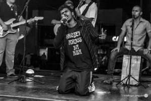 Inspirados Rap participa do evento (Rodrigo Peguin/Agência Kinkan)