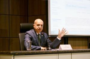 Ministro Valdir Simão em evento de lançamento da Escala Brasil Transparente (Ascom/CGU)