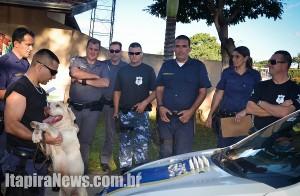 Policiais e guardas trabalharam juntos em nova operação contra o tráfico