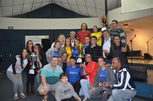 Equipe do Cristália foi campeã do evento desportivo (Divulgação)