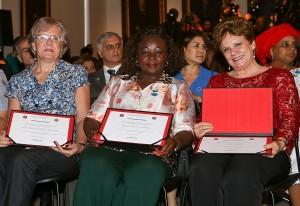 Cerimônia reuniu as três mulheres pioneiras da primeira unidade especializada do país (A2img/Gilberto Marques)