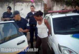 Janete foi surpreendida com drogas e acabou presa (Divulgação)