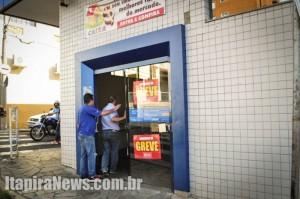 Banco do Brasil e Caixa (foto) aderiram ao movimento grevista