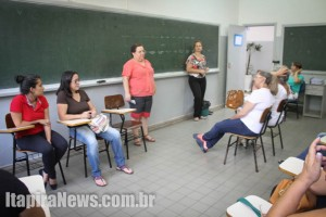 Voluntários e servidores receberam orientações (Leo Santos)