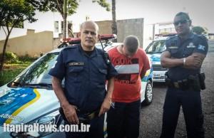 Souza foi surpreendido e confessou tráfico (Divulgação)