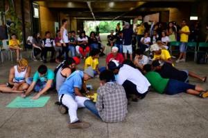 Alunos se reúnem em escola em São Paulo para discutir desocupação (Rovena Rosa/Agência Brasil)