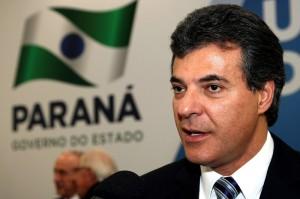 Beto Richa será investido pelo STJ (Divulgação/ANPr)