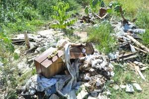 Reportagem confirmou descarte irregular, Prefeitura não se manifestou