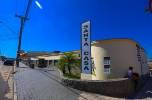 Paciente está internada em estado grave na Santa Casa de Mogi Guaçu (Divulgação)