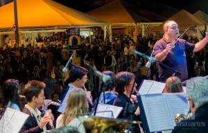 Corporação musical se apresenta nesta segunda-feira e na quarta no evento popular (Divulgação)