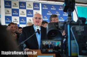 Munhoz teceu elogios ao Governo do Estado