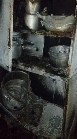 Chamas destruíram dois cômodos, além de móveis, eletrodomésticos e utensílios. Família pede ajuda (Divulgação)
