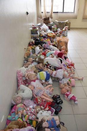 Brinquedos foram revertidos a crianças carentes (Divulgação)