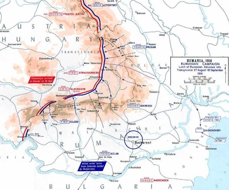 Романија за време на Првата светска војна