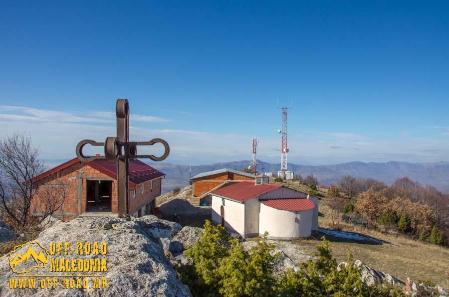 Манастир Св. Пантелејмон на врвот Панделе во близина на село Полчиште