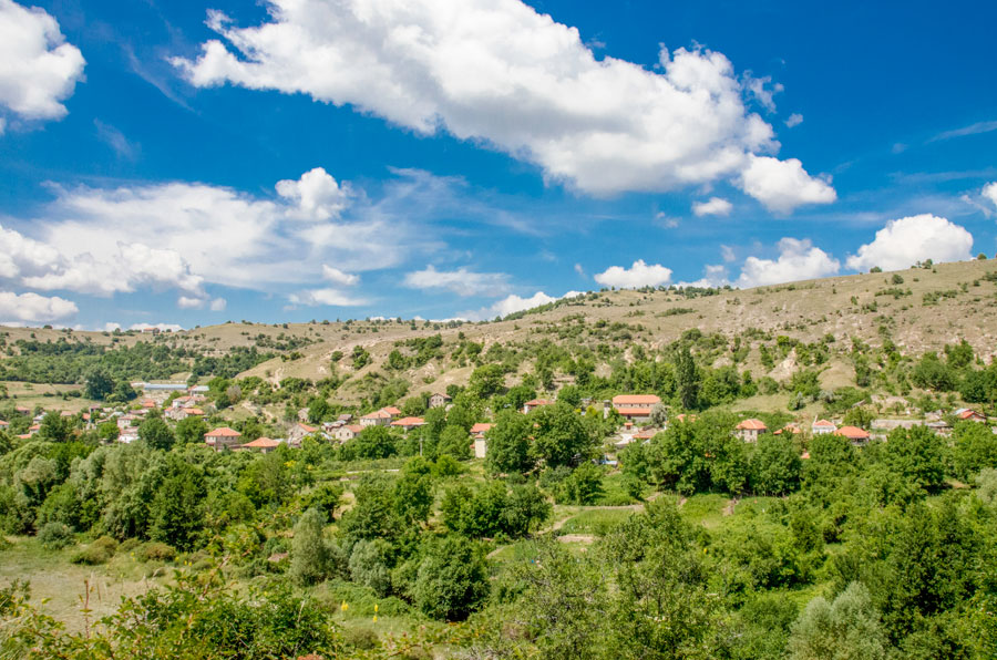 Поглед кон село Градешница