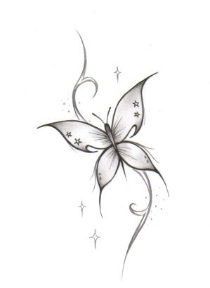 White Butterfly Tattoo Tattoo From Itattooz