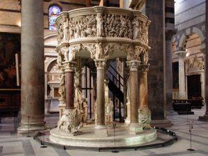 pulpito cattedrale Pisa 2