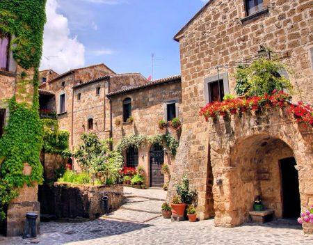 civita di bagnoregio borgo medievale