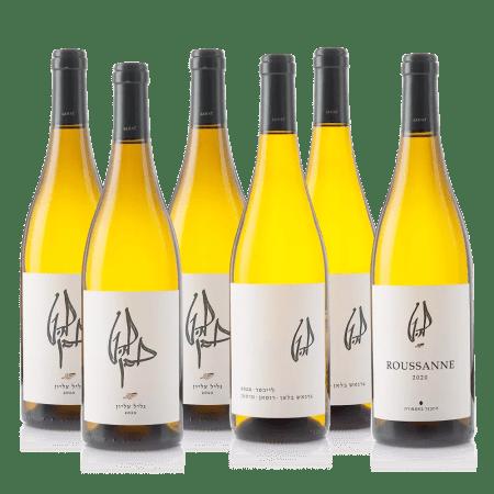 חבילת יינות לבנים שונים להט
