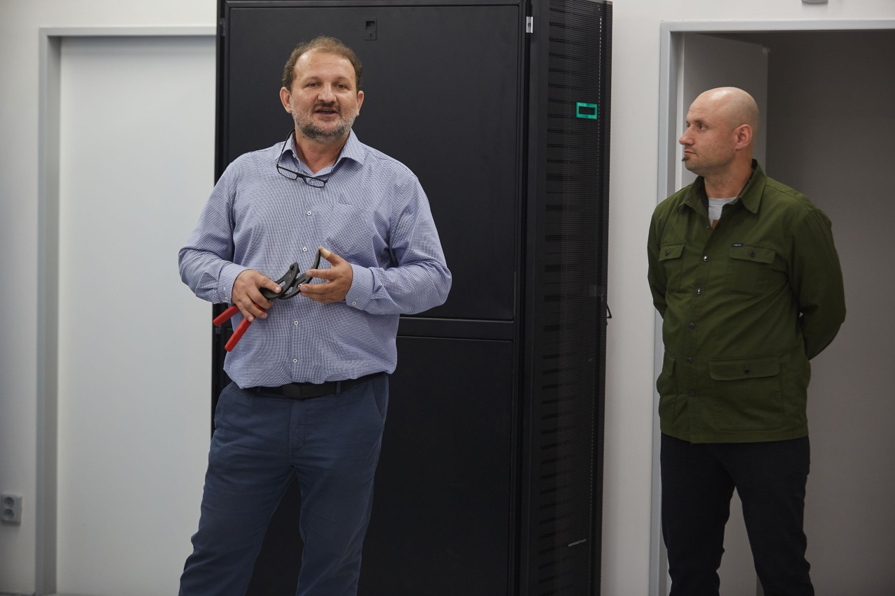 Zleva: Jaroslav Střeštík (FreeTel) a Zdeněk Maršál (Greendata)