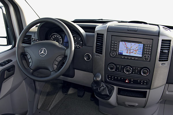 TV DVD Freischaltung Mercedes Benz Sprinter ITC