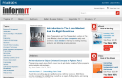 some of my articles published at informit