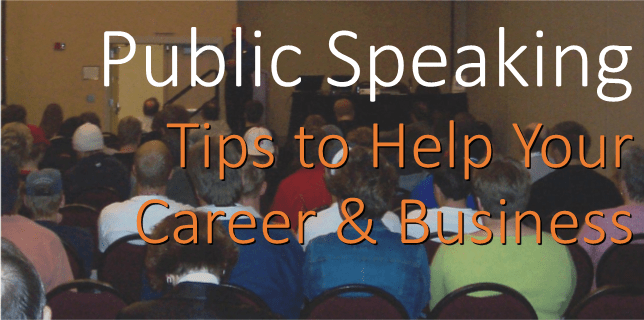 public speaking tips for your business