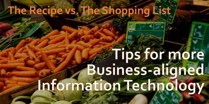 Lessons from the grocery store and business-aligned IT