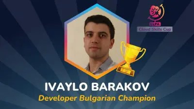 C3 Cup Winner Ivaylo Developer Featured image with logo