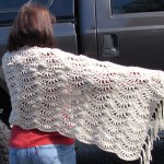 My Simple One Skein Shawl