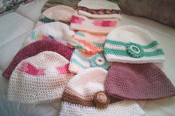 Crochet for Cancer chemo caps http://www.itchinforsomestitchin.com