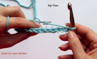 How to Double Crochet. http://www.itchinforsomestitchin.com
