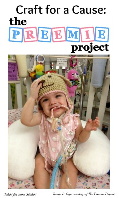 The Preemie Project featured on http://www.itchinforsomestitchin.com