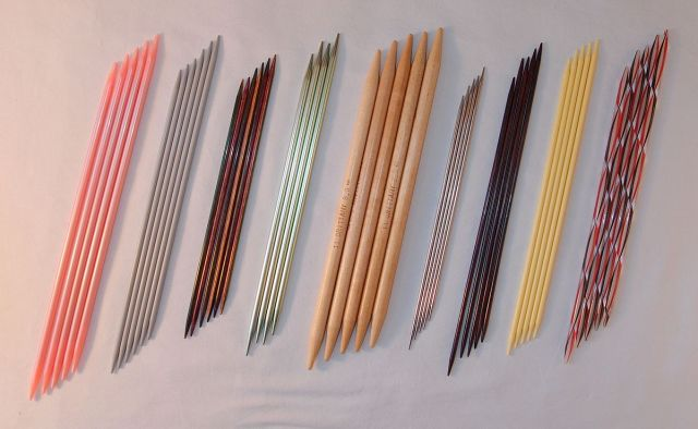 Double-Pointed Knitting Needles. http://www.itchinforsomestitchin.com