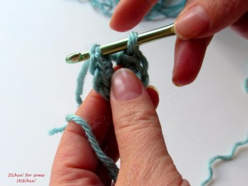 Insert hook into the first chain. http://www.itchinforsomestitchin.com