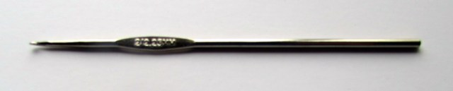 Steel Crochet Hook. http://www.itchinforsomestitchin.com