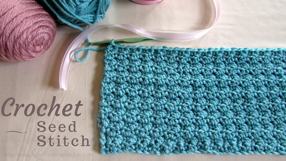 How to Crochet the Seed Stitch. http://www.itchinforsomestitchin.com