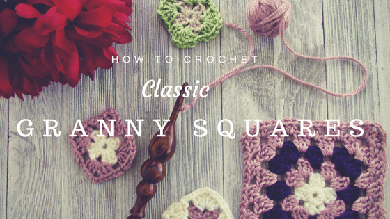 How to Crochet a Classic Granny Square by http://www.itchinforsomestitchin.com