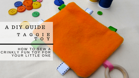 DIY Taggie Toy Tutorial. http://www.itchinforsomestitchin.com