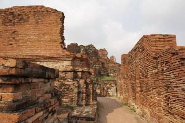 Wat Phra Maha That or Mahathat in Ayatthaya, Thailand