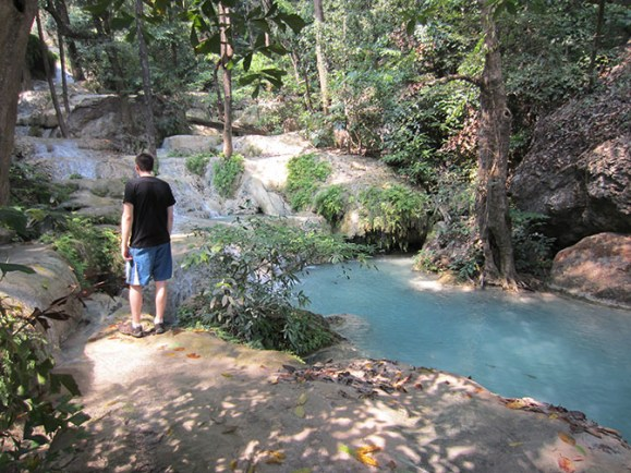 Erawan waterfall park