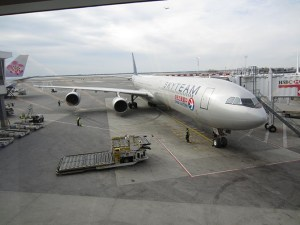 China Eastern Airlines Plane JFK to BKK