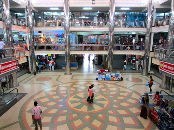 Champasak Plaza Shopping Centre in Pakse, Laos