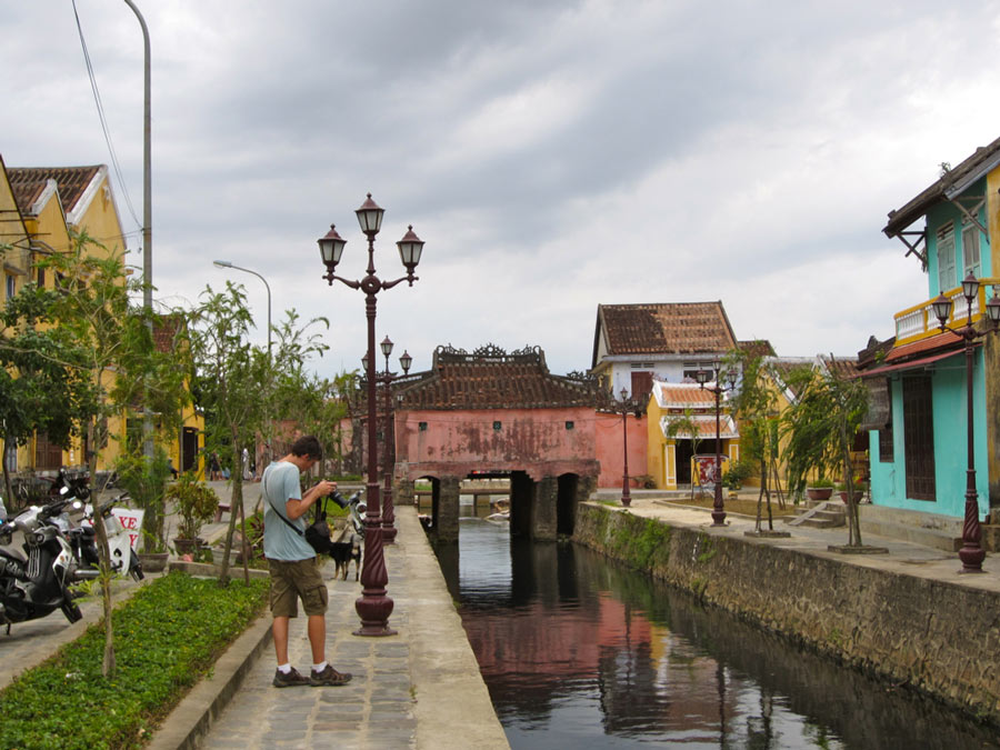 Hoi An CanalUNESCO World Heritage protected city in Vietnam