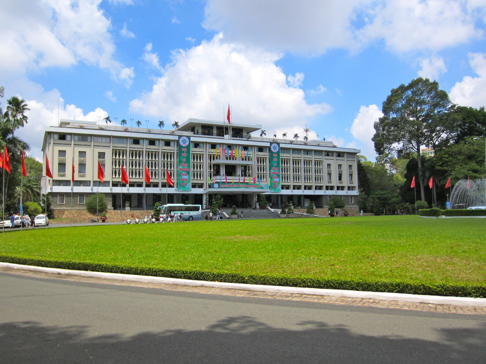 Reunification Palace, Ho Chi Minh City, Vietnam