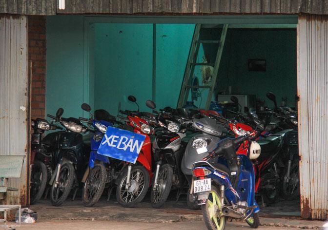 used motorcycle store in VIetnam