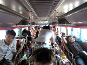 Vietnam sleeper bus